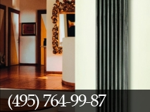 Квартиры-студии: особенности дизайн-радиаторов.